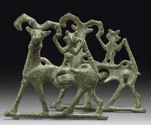 A LURISTAN BRONZE HORSEBIT CIRCA 9TH-7TH CENTURY B.C.