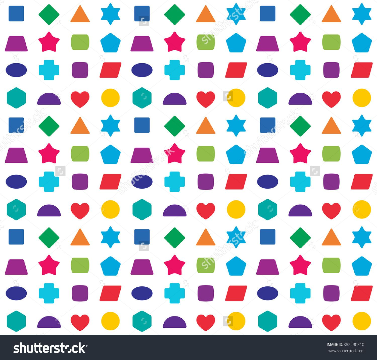 stock vector colorful kids seamless pattern background color