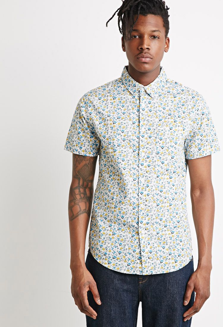 6 Printed Short Sleeve Shirts From Forever 21 Men