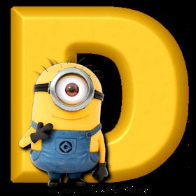 Alphabets By Monica Michielin Alfabeto Amarelo Minions Png Yellow Alphabet Minions Minions Despicableme Alp Minions Minion Party Minions Birthday Theme