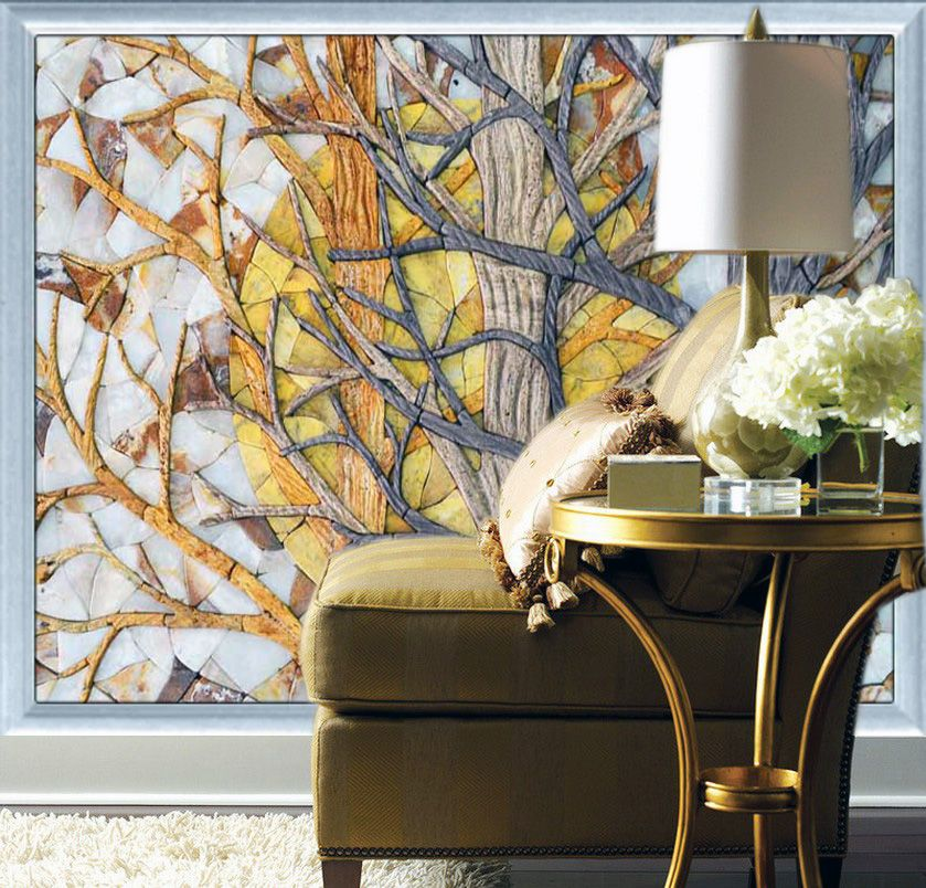 Unique Mosaic Wall Art Ideas For Your Home Room Wallpaper Designs Mosaic Decor Mosaic Wall Art
