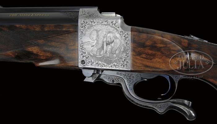 MONUMENTAL CLAYTON NELSON CUSTOM FARQUHARSON SINGLE SHOT DANGEROUS