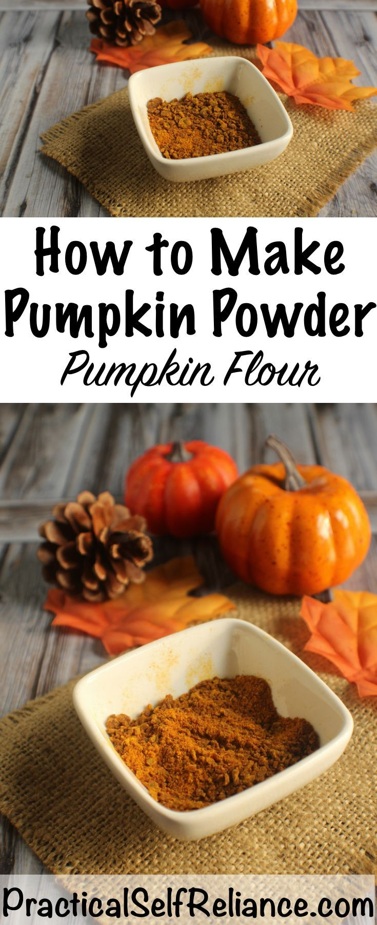 How to Make Pumpkin Powder (Pumpkin Flour)