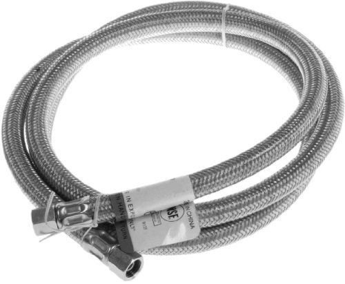 Aviditi 30567avi Stainless Steel Braided Connector For Ice Maker 1 4 Inch Compression By 120 Inch By Aviditi 27 12 From The Manufacturer This