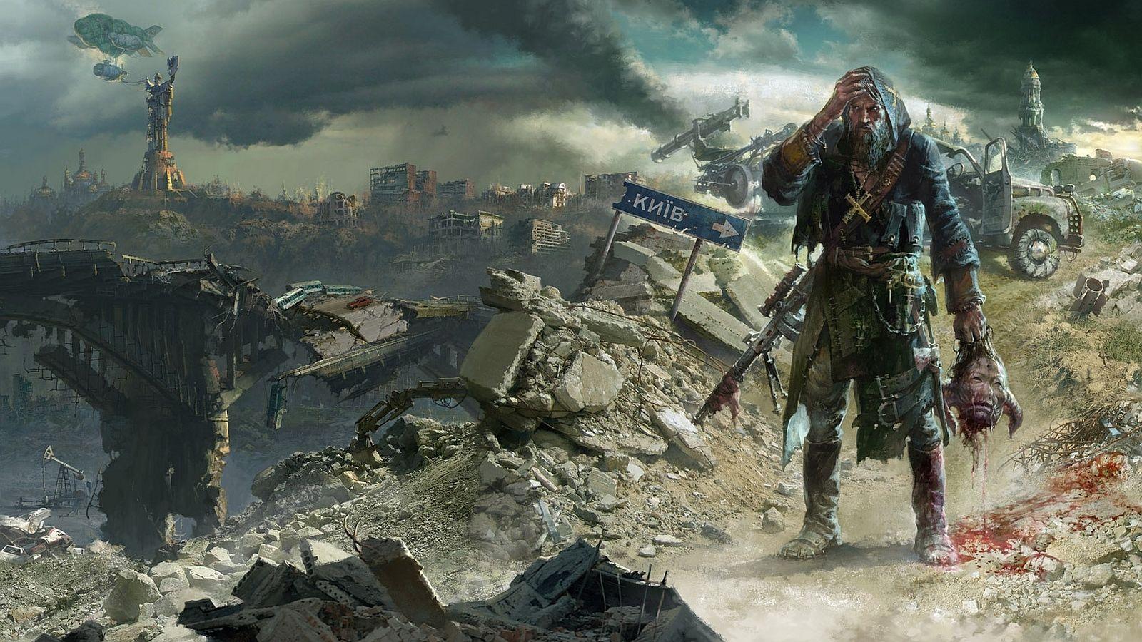 Post Apocalyptic Computer Wallpapers Desktop Backgrounds 1600x900 Id 425558 Post Apocalyptic Apocalyptic Earth Art