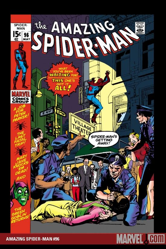 Image result for amazing spider man 96