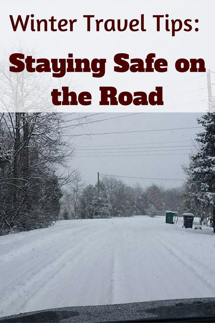 Winter Travel Tips: Staying Safe on The Road AD SCDaretoCompare
