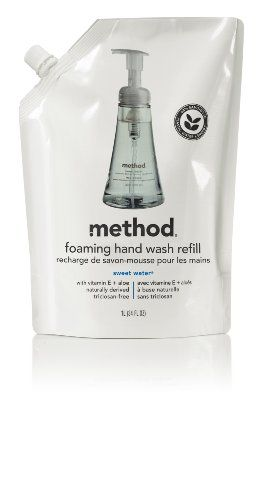 209b0005f41f Method Foaming Hand Wash Refill Pouch Sweet Water, 28 ounces Pouch ...
