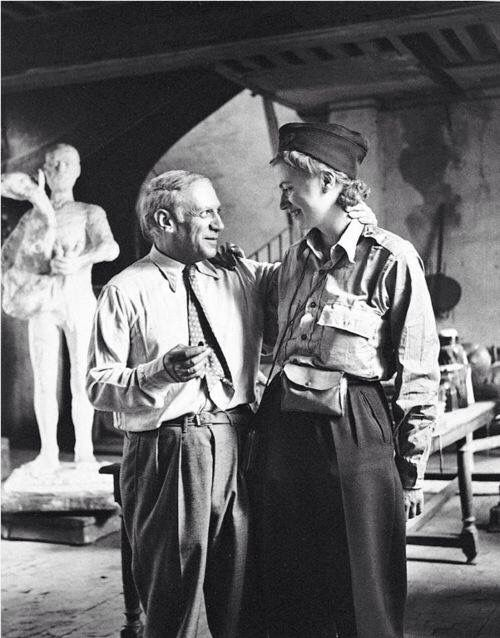 Lee Miller and Picasso ..wars end