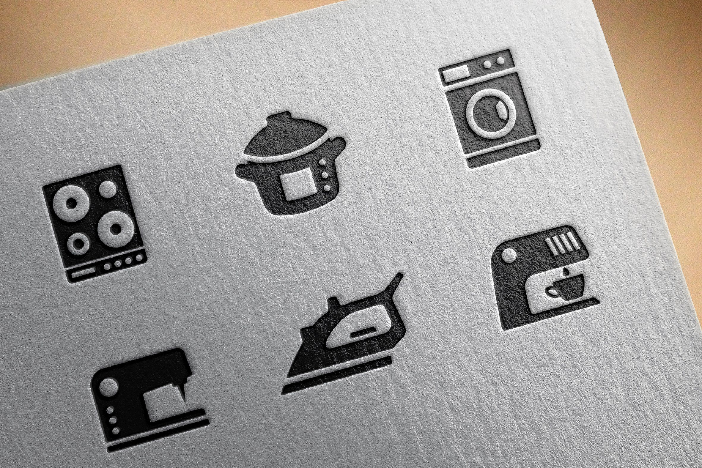 Home appliances icons #Ready#iOS#apps#WOFF | Design