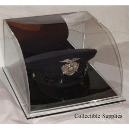 Deluxe Military Police Top Hat Display Hat Display Military Hat Box Hats