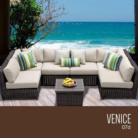 Outdoor Wicker Patio Furniture, Venice Outdoor Furniture