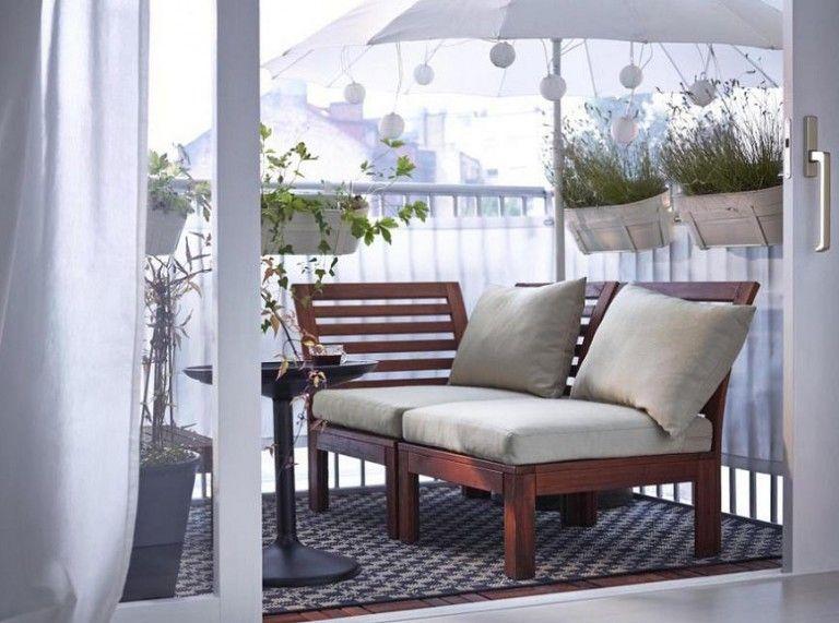Balcony Furniture Ideas In 2020 Ikea Outdoor Furniture