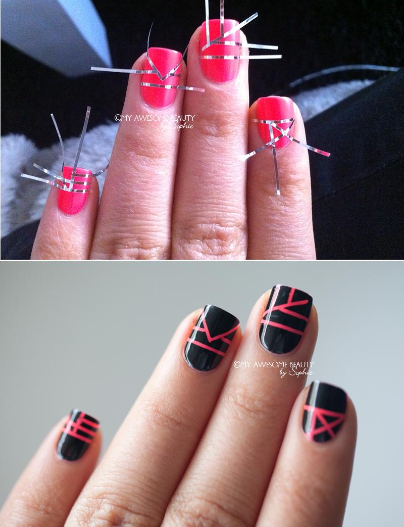 Taped designs - nagels <3 | Pinterest - Nagel, Nagellak en Nagels lakken