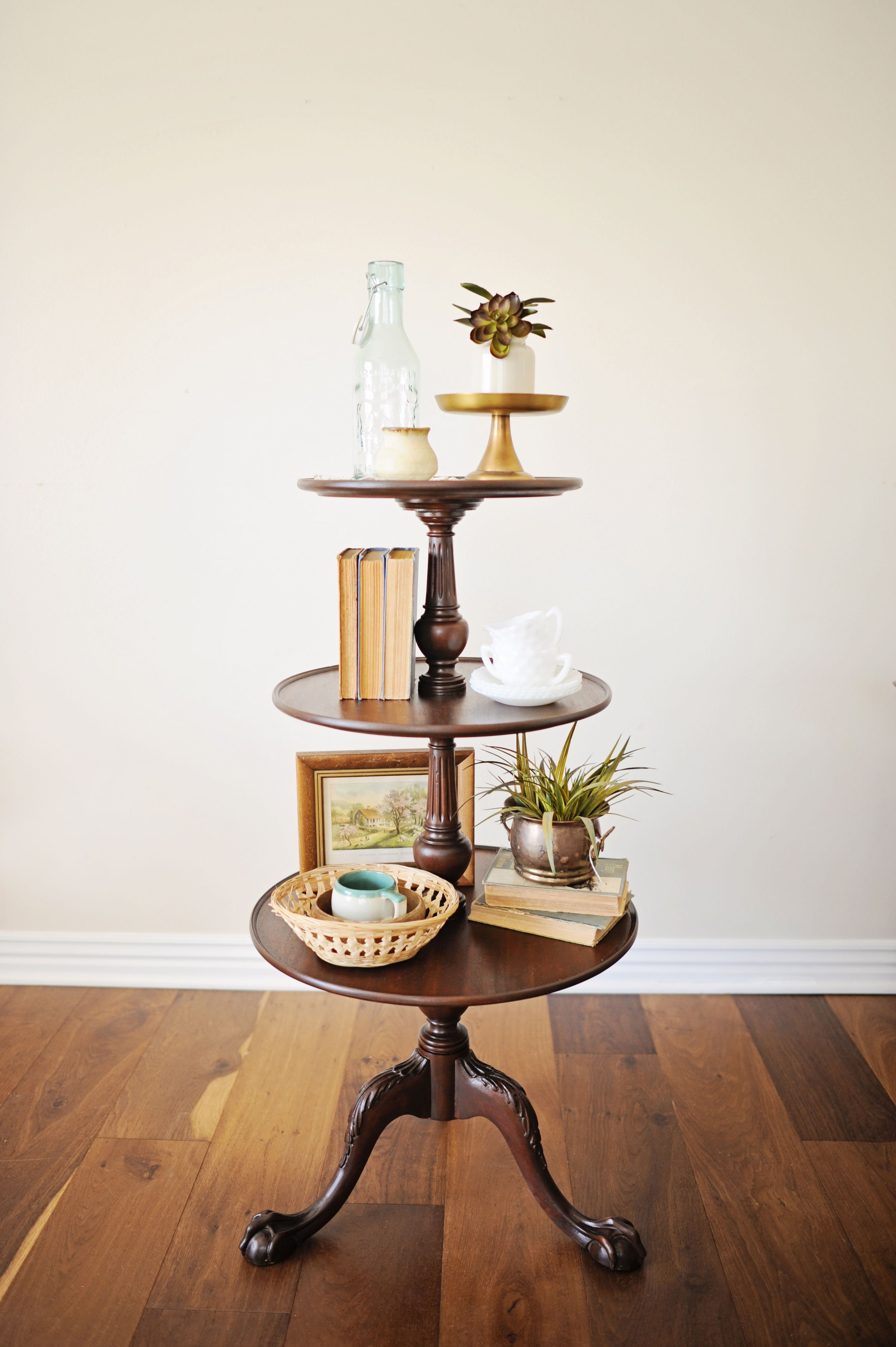 Gorgeous 3 Tiered Pie Crust Table Find Us At True Treasures In Bentonville Ar Living Room Table Tiered Pie Stand Home Decor