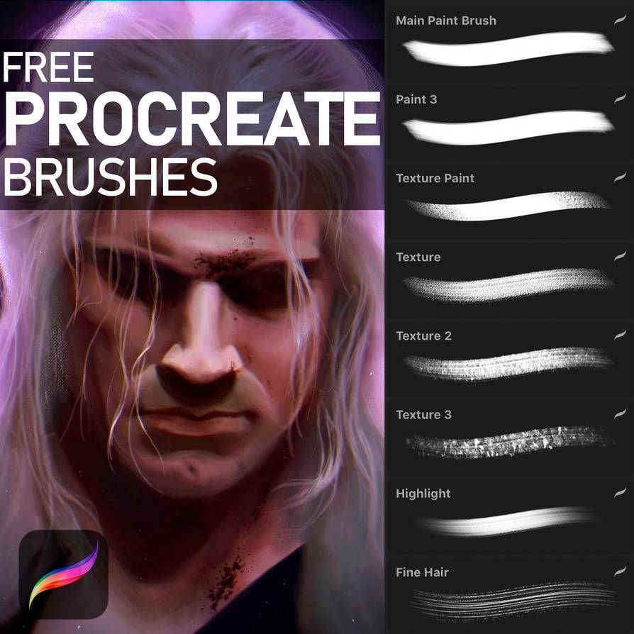 Free procreate brushes by katrimav on deviantart in 2020