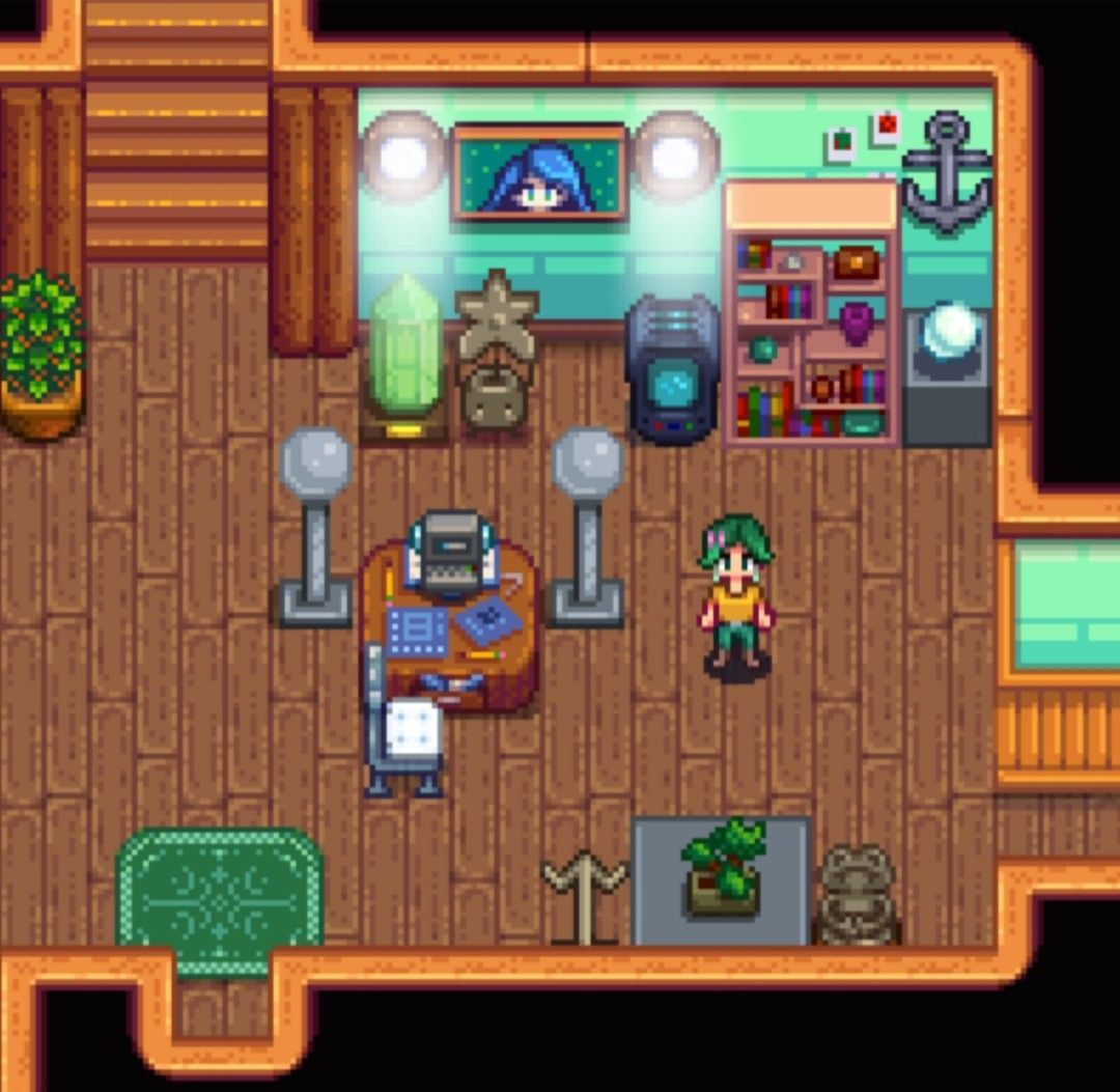 Office Main Area >Stardew Valley>House Interior Decoration ...