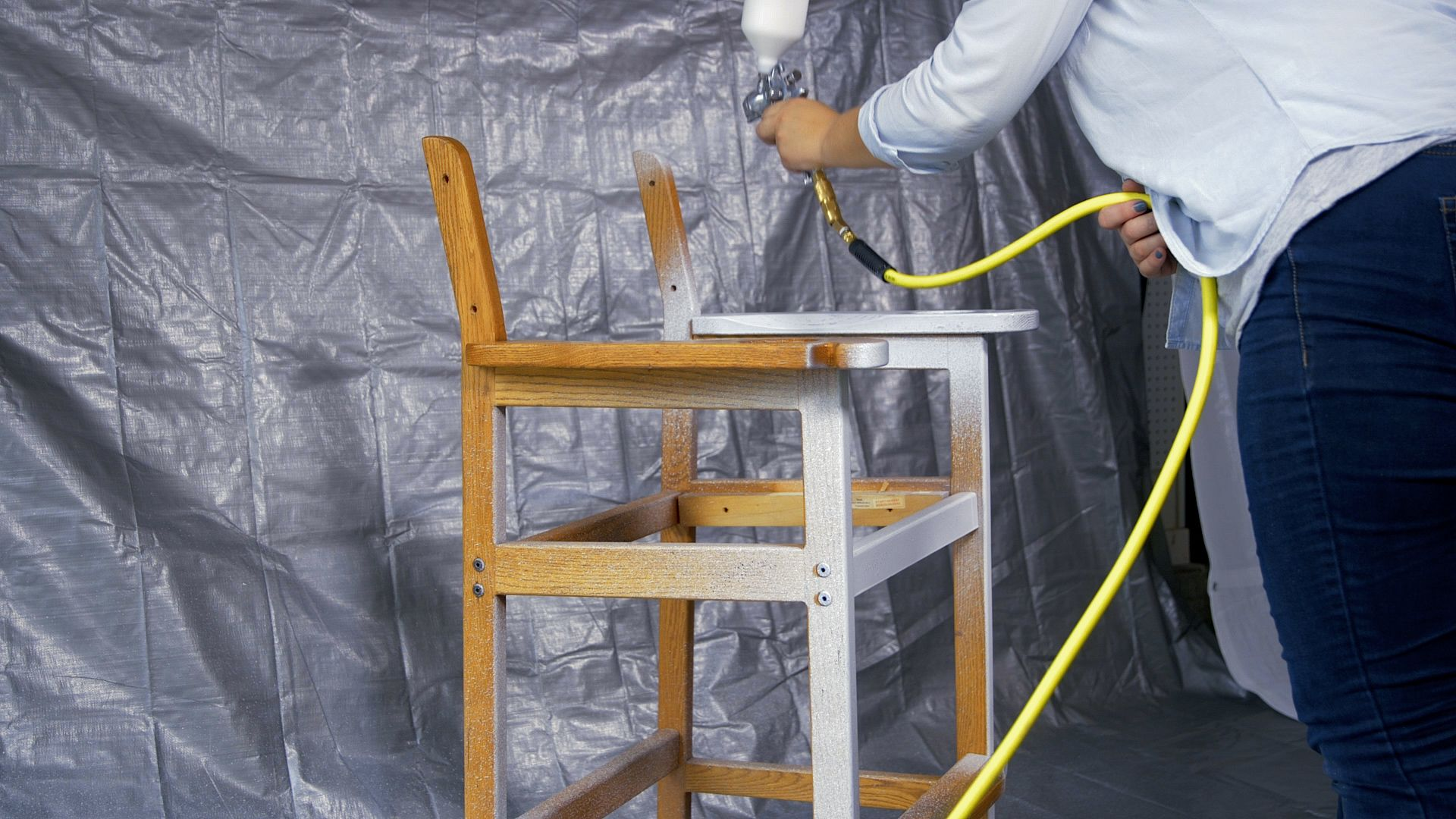 How to Paint a Chair with Your Campbell Hausfeld Quiet Air