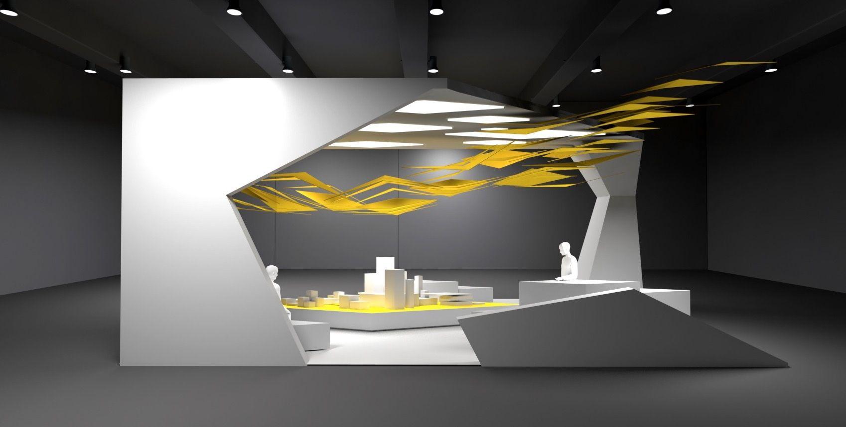 Conception et design de stand pour aximum design espace design stand v nementiel design for Conception stand de foire