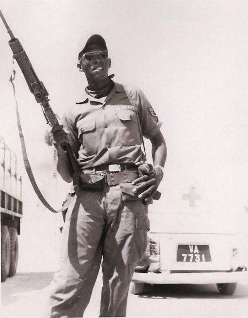 Cam Ranh Air Base, Vietnam circa 1969