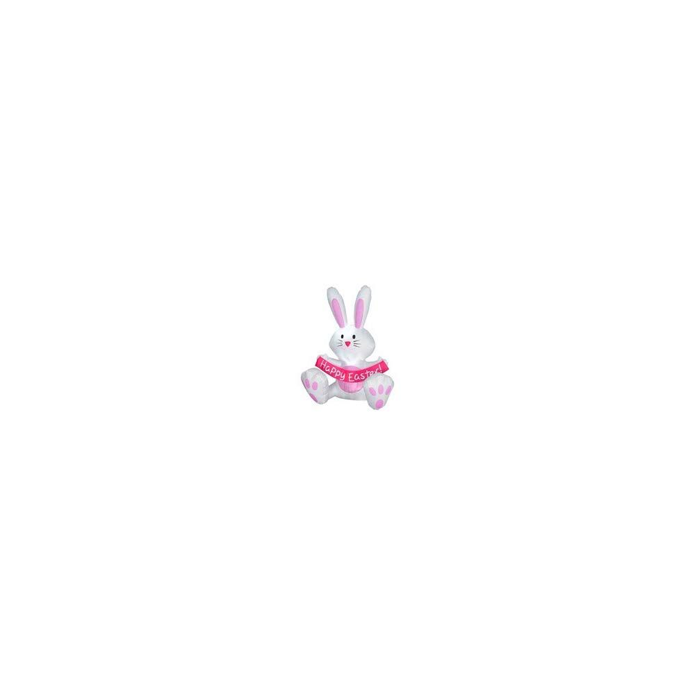 3.5 Inflatable Happy Easter Sign By Gemmy