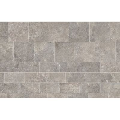 Daltile Valor 12 X 3 Bullnose Tile Trim In Gallant Gray