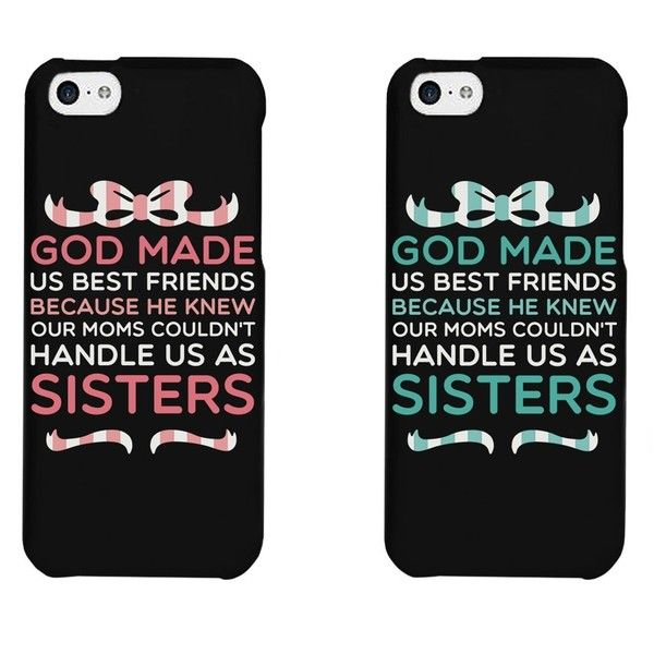 separation shoes 1d4ae 83483 Amazon.com: Cute BFF Phone Cases - God Made Us Best Friends Phone ...