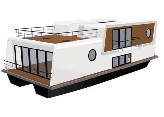 Hausboot autarkes Wohnen Hausboot mieten und kaufen