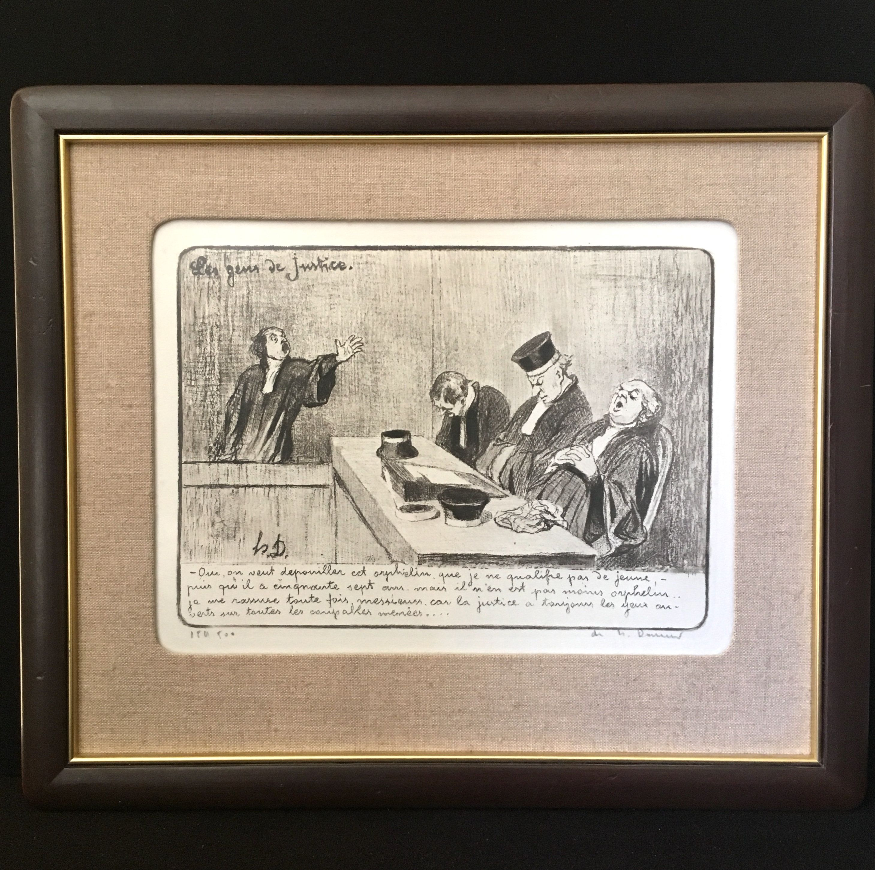 Honore Daumier The Family painting - The Family print for sale