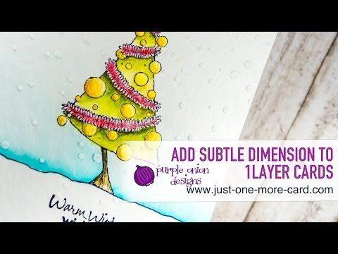 Coloring A Christmas Tree With Inktense Pencils