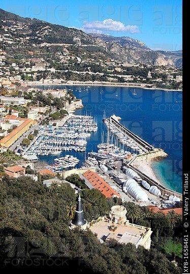 El pueblo costero de Villefranche-sur-Mer, Costa Azul, Alpes Marítimos, Provenza-Alpes-Costa Azul, Francia, Europa