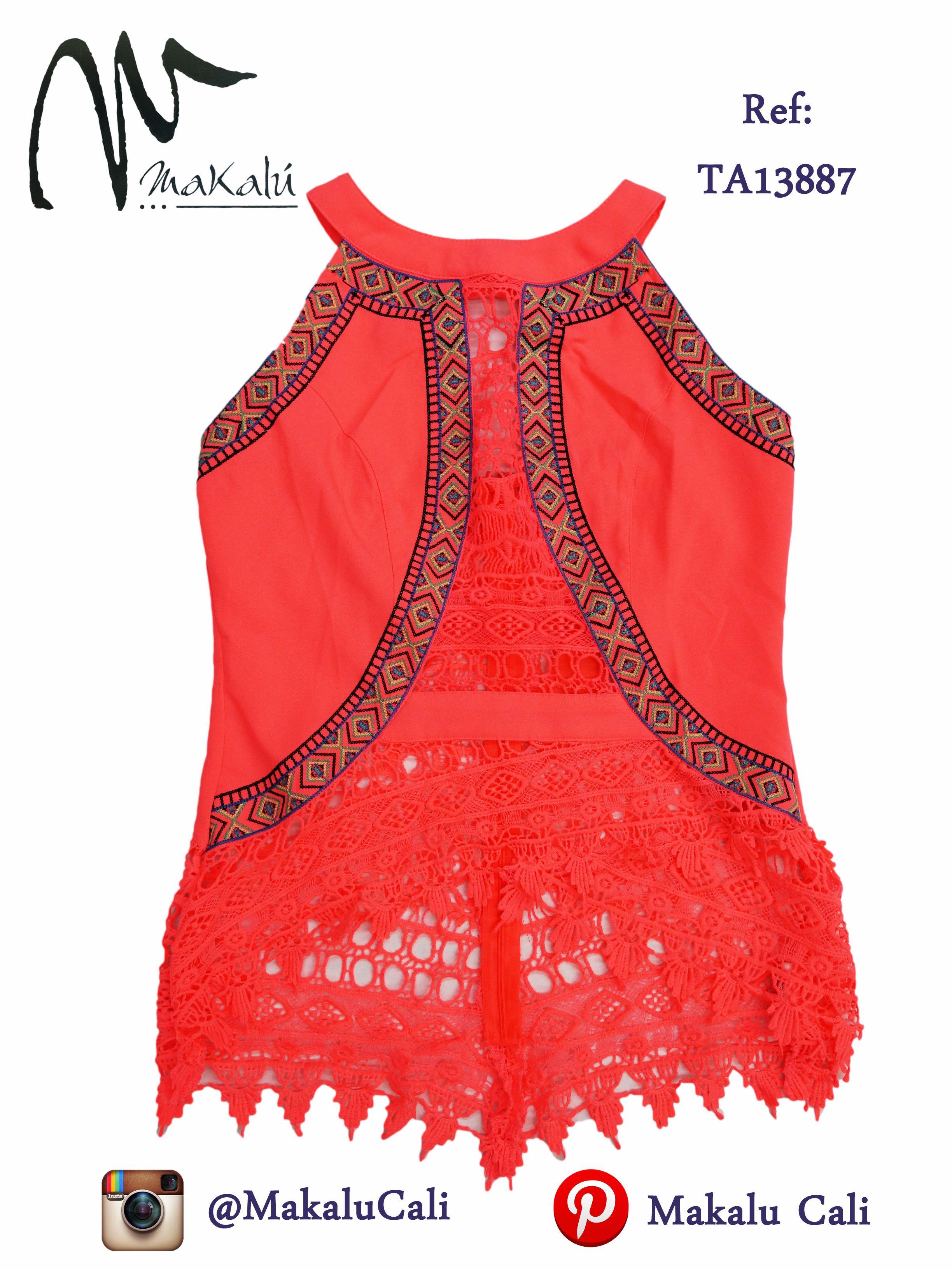 Blusas con bordados etnicos... #Blusas #makalucali #centrocomercialBahia #CentroComercialEltesoro #RopaAmericana #Cali #Colombia #ModaFemenina #tendencias #tiendasMakalu