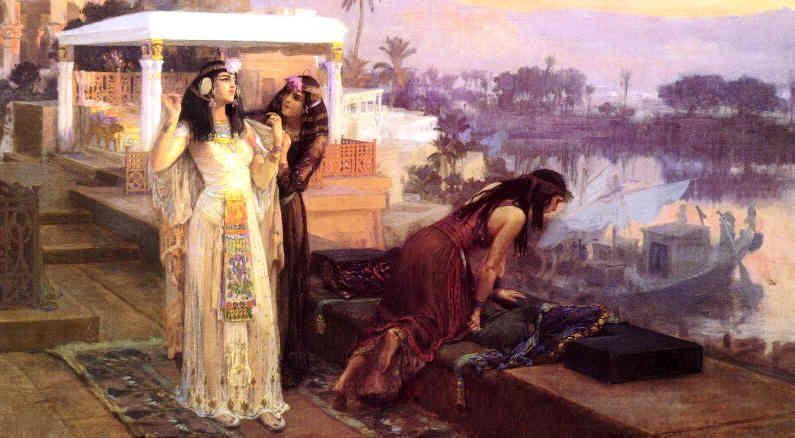 Pharaoh And Cleopatra Art