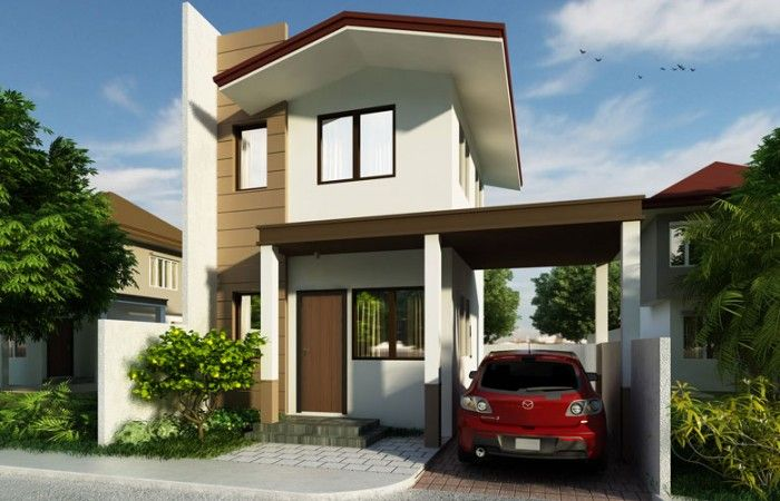 Small two storey house phd pinoy designs also planos rh in pinterest