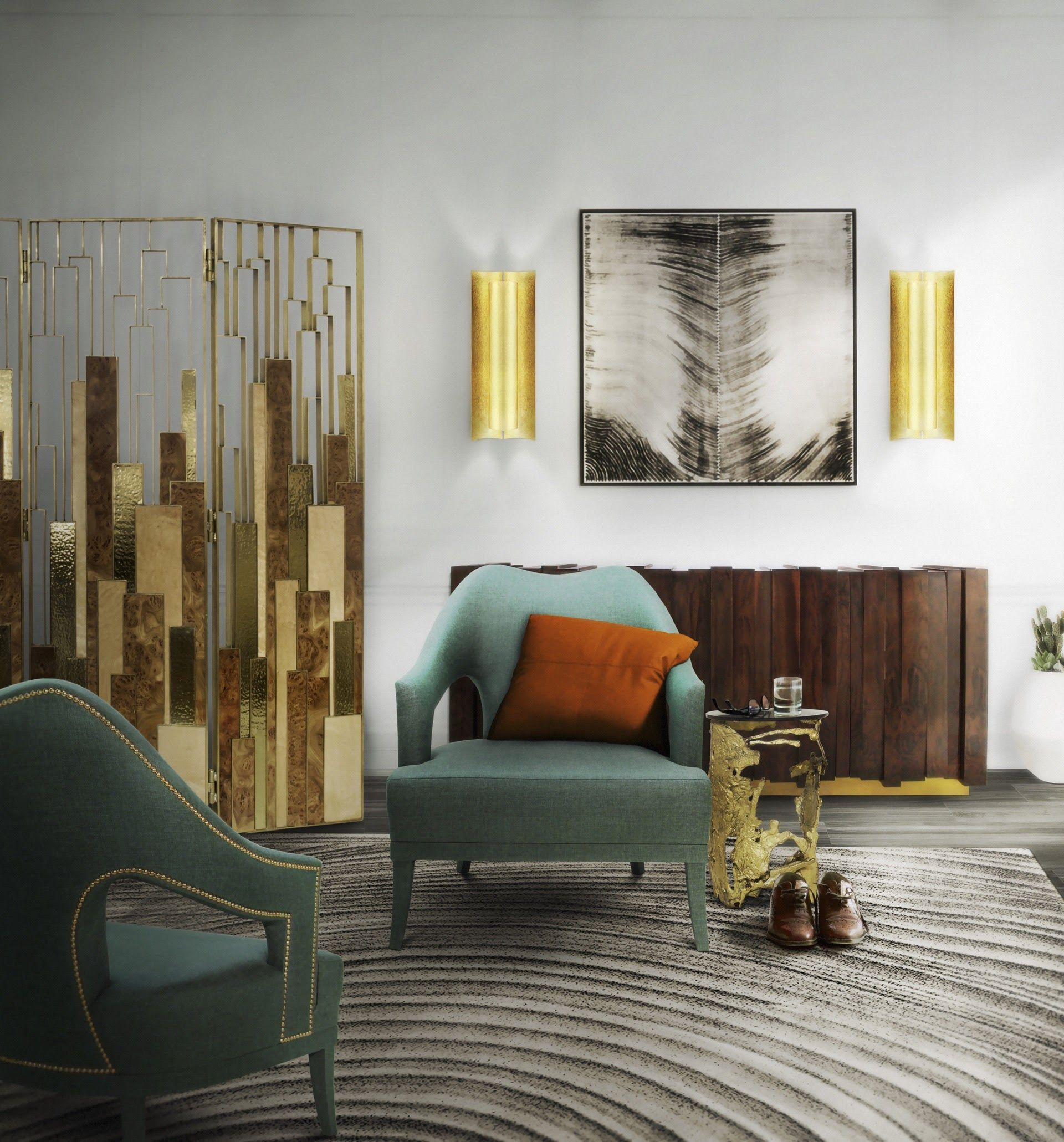 Top modern chairs to get the chic living room look living room