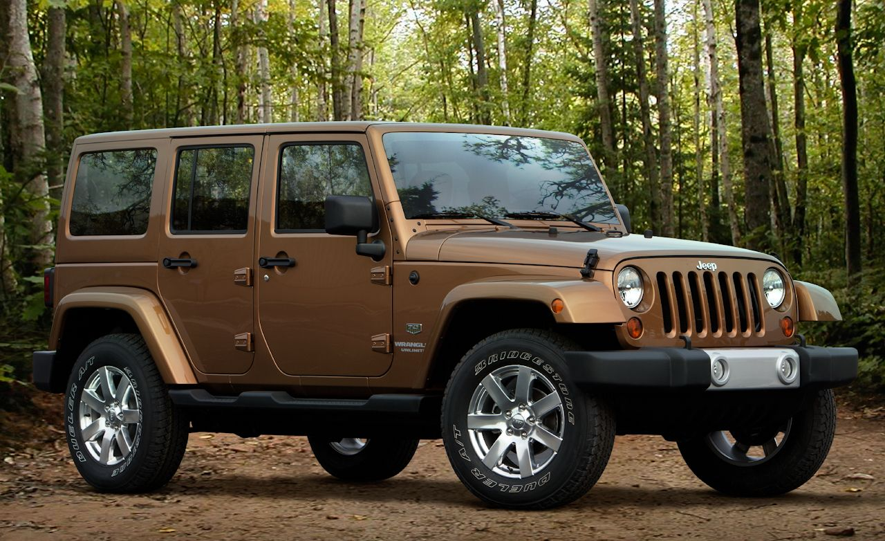 2014 chocalate color cars 2011 Jeep Wrangler Unlimited 70th
