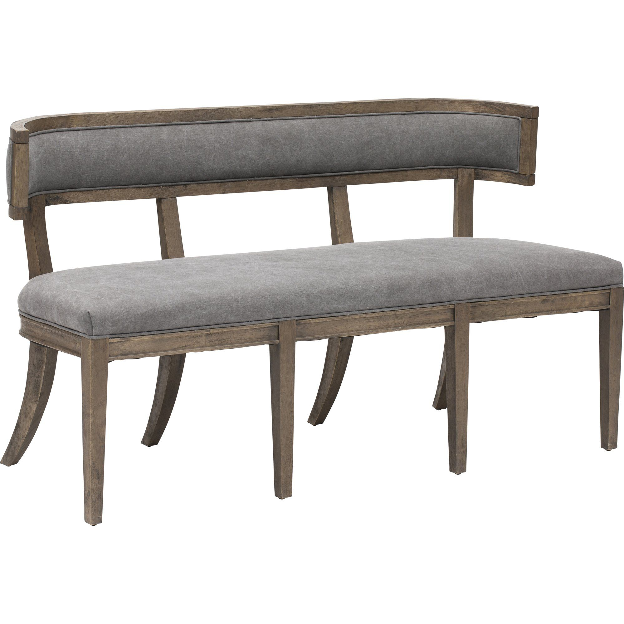 Carter Dining Bench In 2021 Dining Bench With Back Upholstered Dining Bench Dining Furniture Makeover