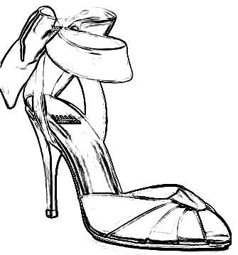 High Heel Shoes Coloring Pages Bing Images High Heel Shoes Coloring Pages Color