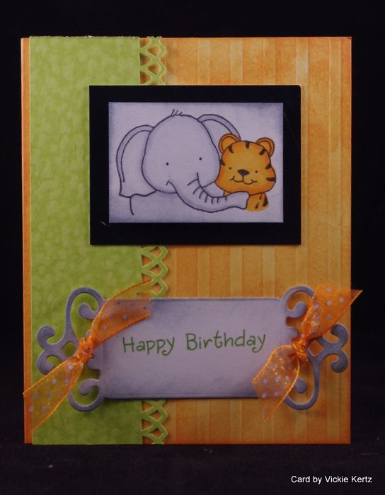Card made from paper from Paper Temptress.