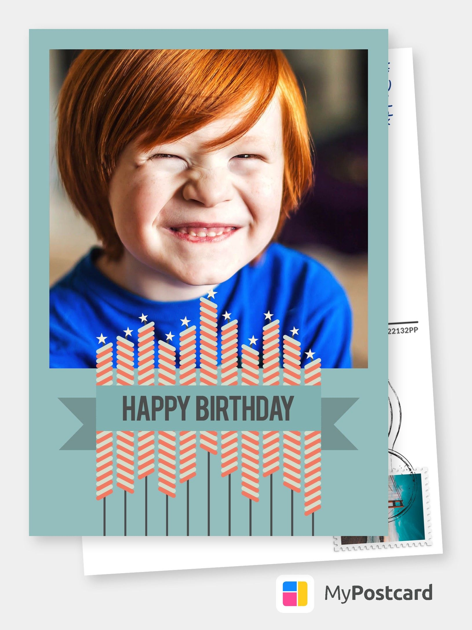 Send Photo Birthday Cards Online To Canada Us Uk International Free Shipping Printed Mailed For You Use Your Own Photos Cards Postcard Greeting Birthday