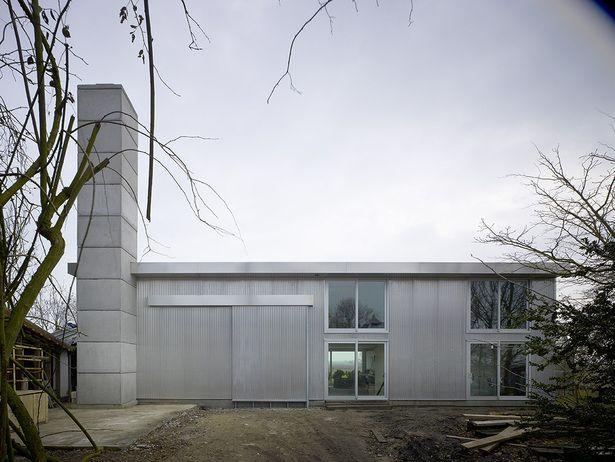 Villa Trapman, Nieuwveen   Claus en Kaan Architecten; Photo: Christian Richters   Archinect