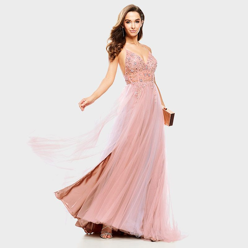df215676778 GB Social Floral Beaded Ballgown in 2019
