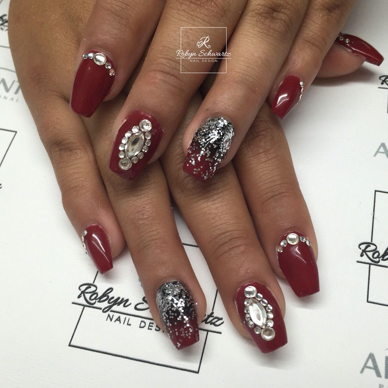 Swarovski Nail Art Stones: Swarovski crystal nail art craftideas.