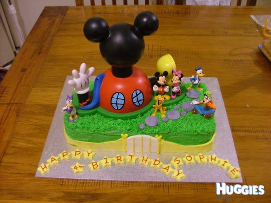 Mickey Mouse Clubhouse | Huggies Birthday Cake Gallery - Huggies ...