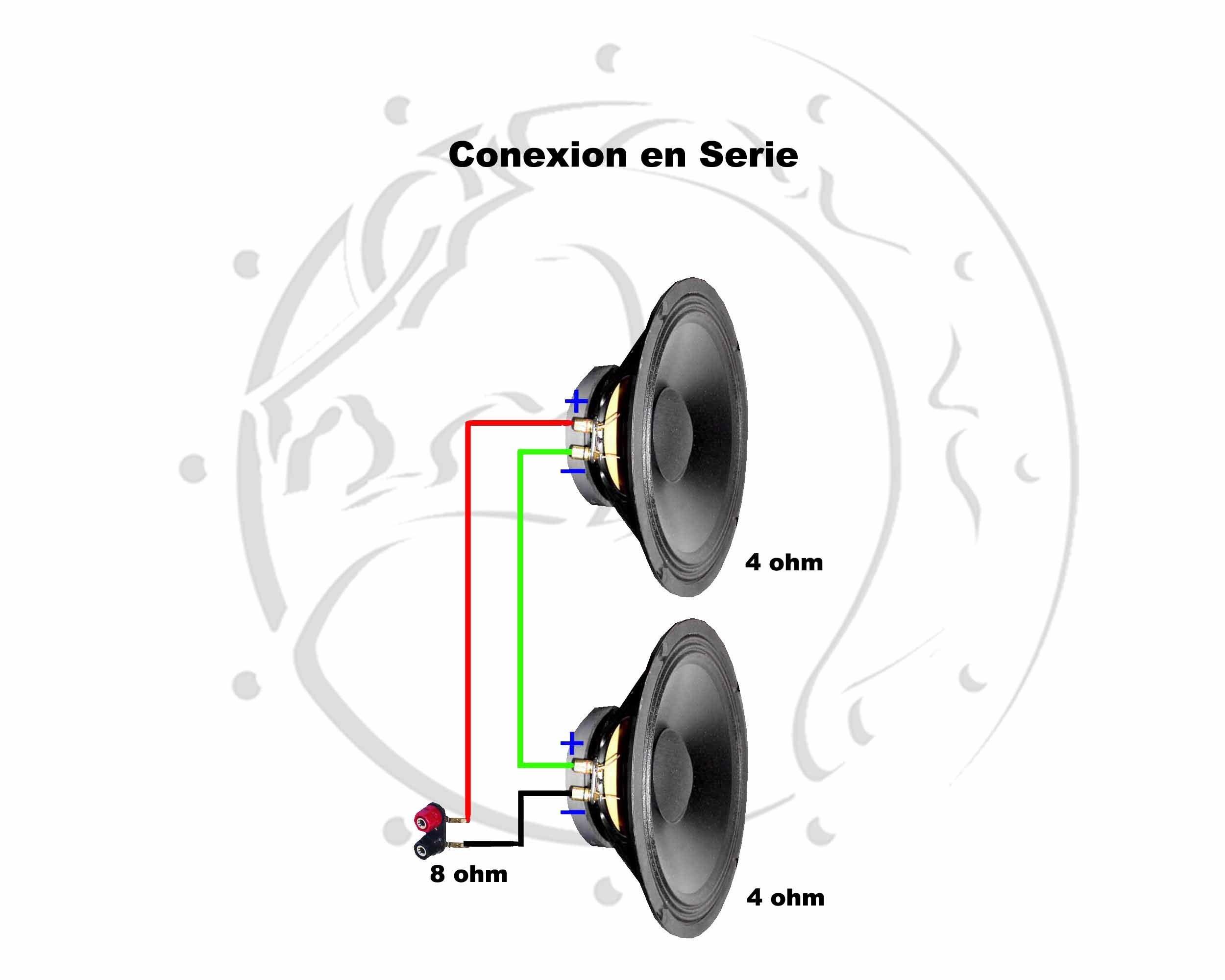 Conexiones Muy Simples Para Parlantes Crossover Pasivo Parlantes Audio De Automóviles Crossover Pasivo