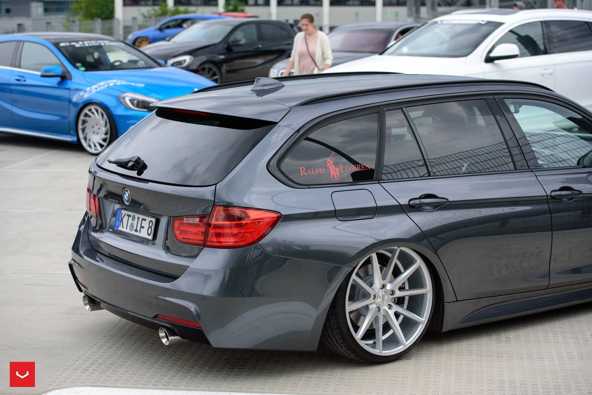 BMW F31 335i Touring xDrive MPackage VOSSENWheels Sexy