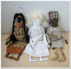 Выкройки кукол.