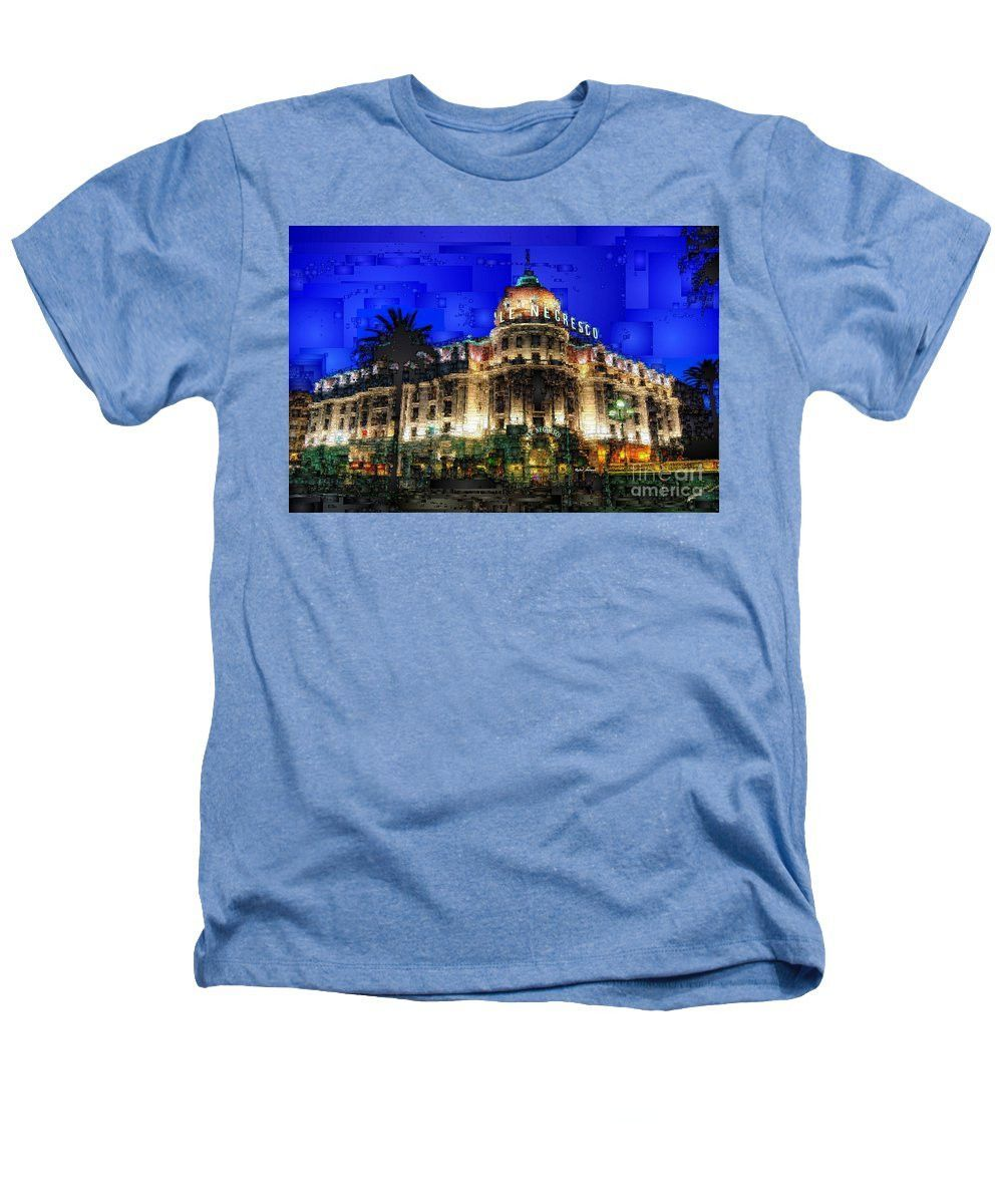 Heathers T-Shirt - Le Negresco Hotel In Nice France