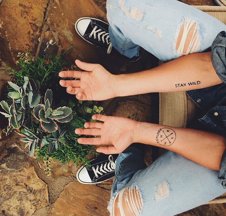|stay wild| & |explore|