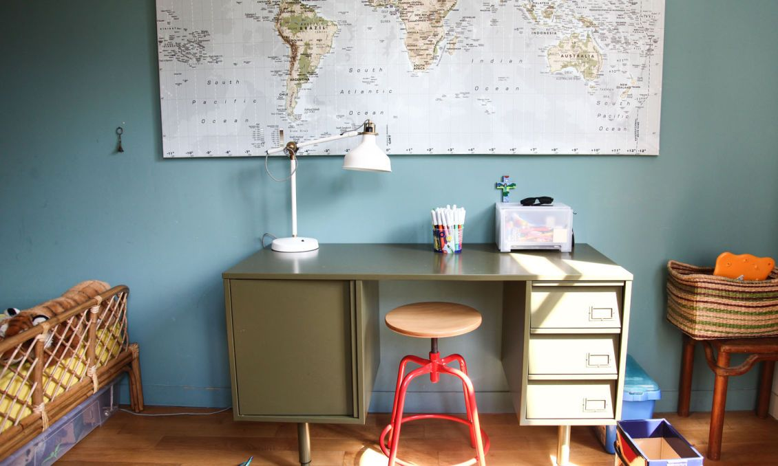 10 bureaux vintages pour enfants | Bureau enfant, Industriel et ...